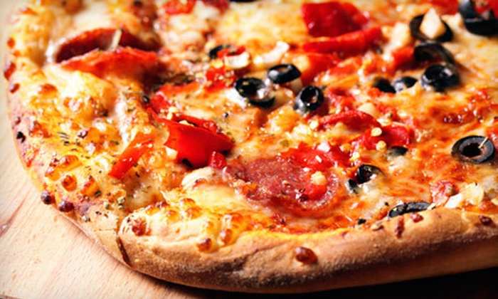 Pizza Factory SJB - Pizza Factory: Pizza, Salads, and Beer for Two or Four or $ 10 for $ 20 Worth of Italian Food and Drinks at Pizza Factory