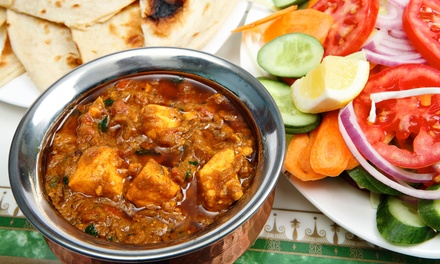Indian Meal with Naan, Rice, and Dessert for Two or Four at Agras Bay Leaf (48% Off)