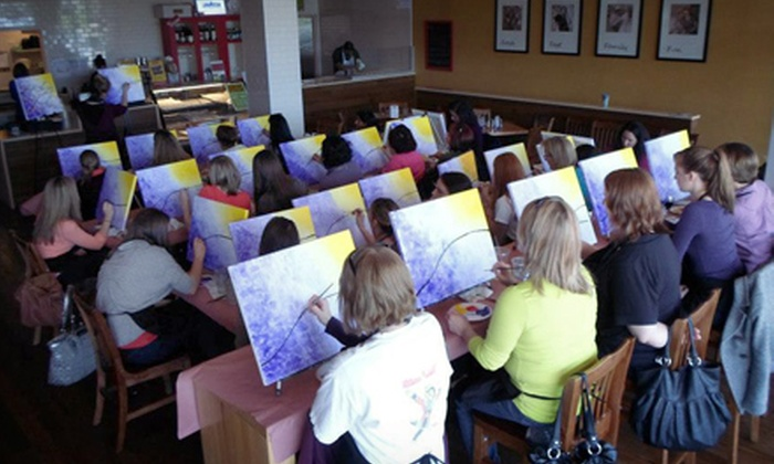 Vino van Gogh - Cedar Rapids / Iowa City: $19 for Two-Hour Painting Class at Vino van Gogh ($38 Value)