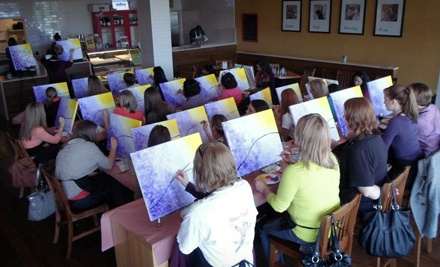 $19 for Two-Hour Painting Class at Vino van Gogh ($38 Value)