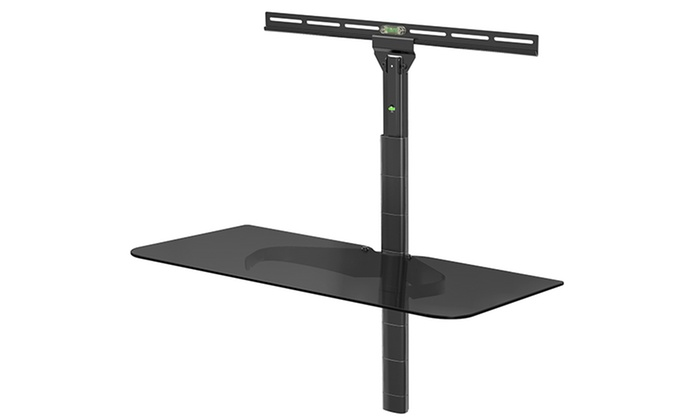 Wall Mount Single Gl Shelf