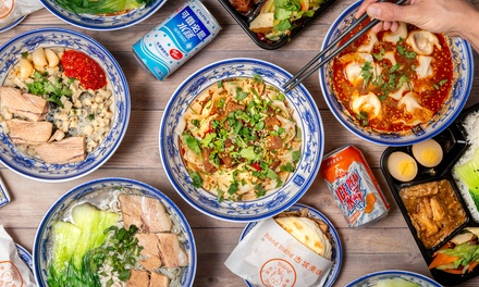 Chinese-Style Noodle Meal for One ($8.80) or Two People ($17.60) at Biang Biang, Broadway (Up to $29 Value)