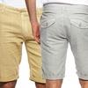 Division E Men's Slim Linen Shorts