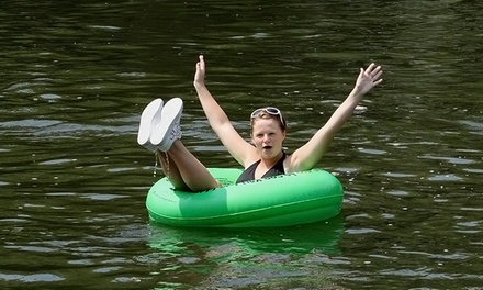 Weekday or Weekend Tubing for One, Two, or Four from Bucks County River Country, Inc. (Up to 52% Off)