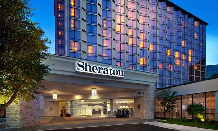 Upscale Hotel Near the Galleria Boutiques - Dallas: Stay with Daily Buffet Breakfast and Parking at Sheraton Dallas by the Galleria in Dallas, TX