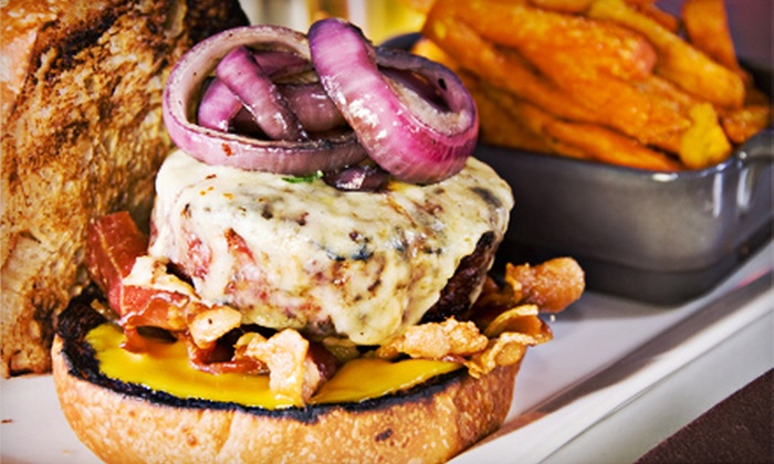 Triptych - SoMa: Gourmet Burgers for Two, Four, or Six at Triptych (Up to Half Off)