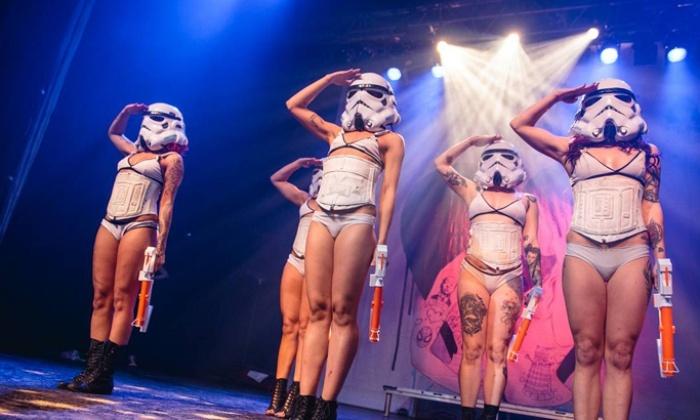 """SuicideGirls: Blackheart Burlesque Tour - Mercury Ballroom: SuicideGirls: """"Blackheart Burlesque"""" at Mercury Ballroom on October 19 at 9 p.m. (Up to 50% Off)"""