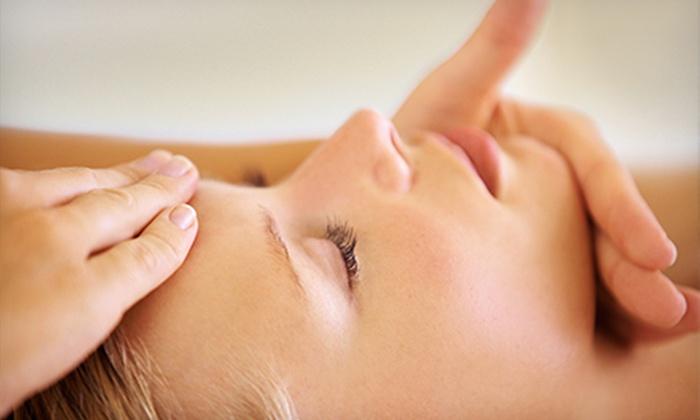 Salon Embellish - Encanto: 60-Minute Massage, Facial, or Both at Salon Embellish (Up to 66% Off)