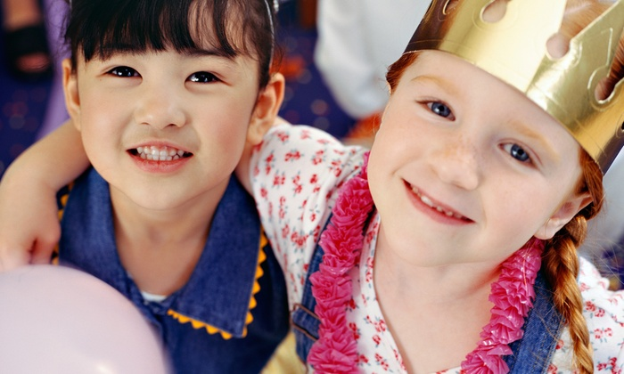 Tots, Trains & Tiaras - West Sugar Creek: $150 for an Insta-Party Pack from Tots, Trains & Tiaras ($300 Value)