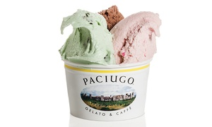 Paciugo: $5 for $10 Toward Gelato, Coffee, and Other Frozen Treats at Paciugo