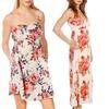 Cotton Express Floral Print Dress