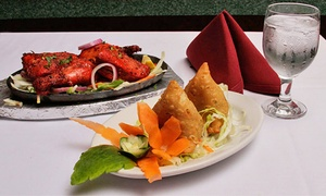 Mount Everest Restaurant: Indian or Nepalese Food and Drinks for Dine-In or Take-Out at Mount Everest Restaurant (Up to 47% Off)