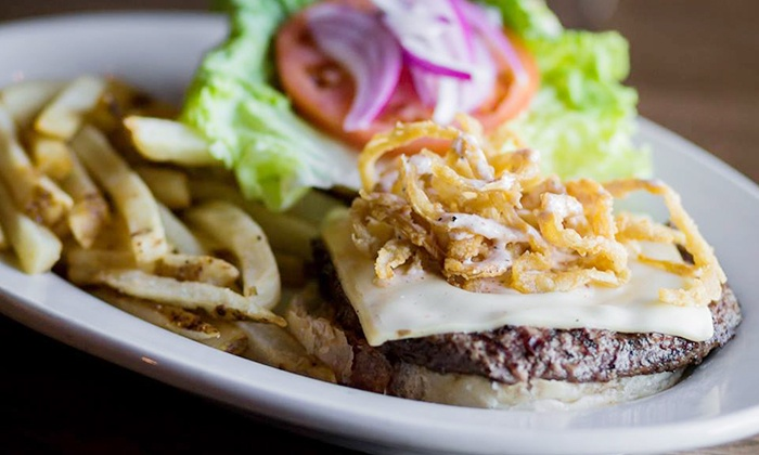 Jerseys Grill and Bar - Wichita: Pub Dinner for Two or Four or More, Pub Food Any Time, or Take-Out at Jerseys Grill and Bar (Up to 50% Off)