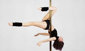 Rhiannan Nichole's Premier Pole: Three or Five Classes, or One Month of Unlimited Classes at Rhiannan Nichole's Premier Pole (Up to 81% Off)