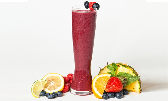Refuge Smoothie Cafe - Multiple Locations: Two Groupons, Each Good for a Smoothie and Wrap or Breakfast Sandwich at Refuge Smoothie Cafe (Up to 52% Off)