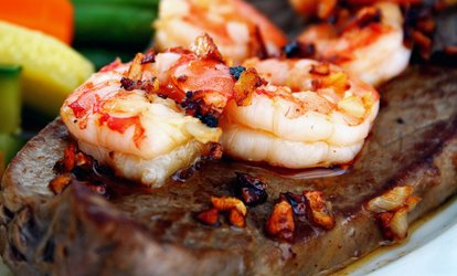 image for Steak-House Food for Dine-In or Takeout at Cedar Rock Grill (Up to 50% Off)