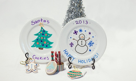 $17.50 for a Christmas 90-Minute Parent-and-Child Workshop at Make-A-Messterpiece ($35 Value)