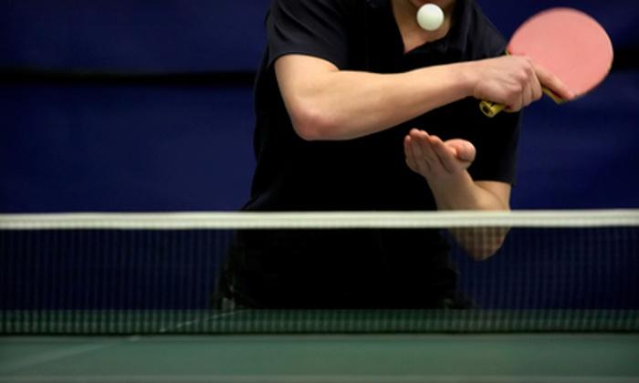 Yang's Table Tennis Club - Suwanee-Duluth: 5 or 10 Visits to Yang's Table Tennis Club (Up to 69% Off)