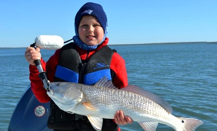 $185 for Four-Hour Inshore Fishing Trip for Up to Three People from The Reel Deal Charters (Up to $375 Value)