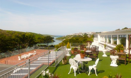 Newquay: 1 or 2 Nights for Two with Breakfast, Dinner and Leisure Access at Hotel California