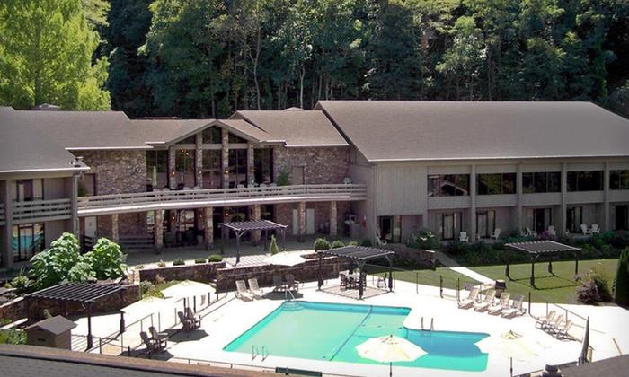 Fontana Village Resort - Fontana Dam,NC: Two-Night Stay for Up to Four at Fontana Village Resort in the Great Smoky Mountains