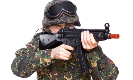 90-Minute Airsoft Party for Up to 40 at So Go Airsoft (Up to $49 Value)