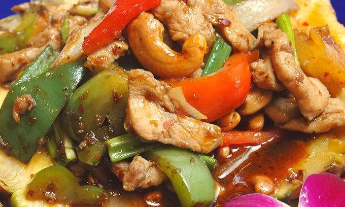 Taste of Thai - West Jordan: Thai Food at Taste of Thai (Half Off). Two Options Available.