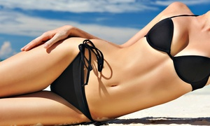 Pacific Sun Tanning Company: Slimming Body Wraps and Red-Light Therapy at Pacific Sun Tanning Company (Up to 53% Off). Three Options Available.