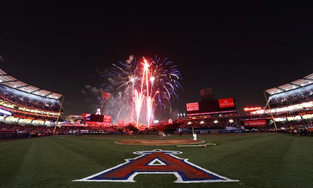 Los Angeles Angels of Anaheim vs. Boston Red Sox Major League Baseball Game on Friday, August 8 (Up to 31% Off)