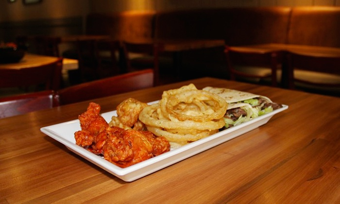 Blue Star House of Beef, Burgers, and BBQ - North Bethesda: $12 for $20 Worth of Food, Valid Monday-Friday at Blue Star House of Beef, Burgers, and BBQ