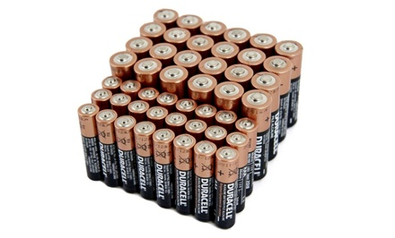 Duracell Batteries Bundle with 24 AA Batteries and 24 AAA Batteries
