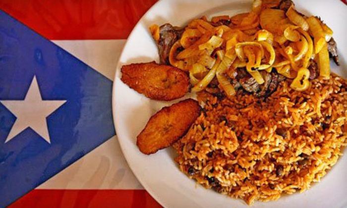 Mofongos Restaurant - North Hollywood: $15 Worth of Puerto Rican Food