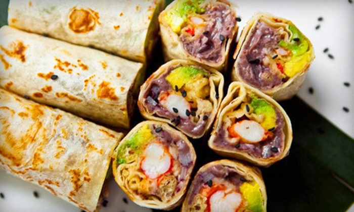 Taka Taka - SoHo: $15 Worth of Sushi and Asian Tacos