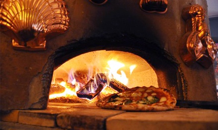 Pizza Dinner for Two or Four with Drinks or Takeout at bonoPIZZA (Up to 43% Off)