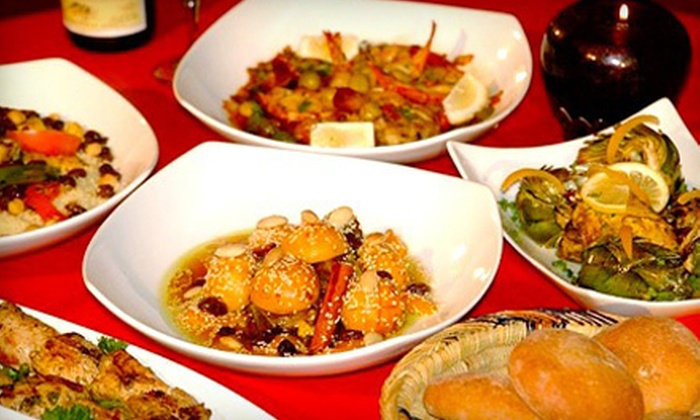 Imperial Fez - Imperial Fez: Family-Style Five-Course Moroccan Meal for Two or Four at Imperial Fez (56% Off)