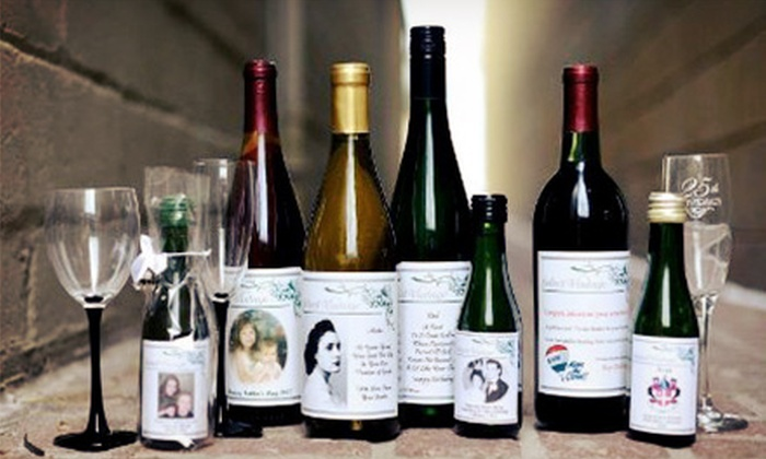 Select Vintage - Select Vintage: One or Three Bottles of Wine with Personalized Labels at Select Vintage (Up to Half Off)