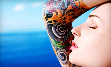 Up to Six Hours of Tattoo Work at SDInk Tattoo and Body Piercing (Up to 53% Off). Three Options Available.