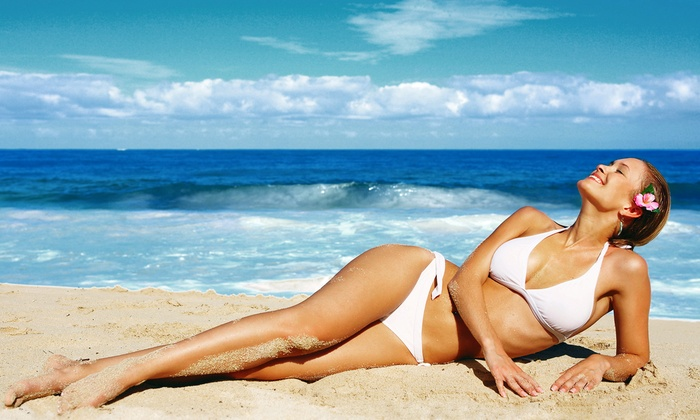 Euro Tans - Multiple Locations: One or Two Organic Custom Airbrush Tans at Euro Tans (Up to 68% Off)