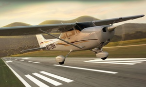 Infinity Flight Group: $275 for a 60-Minute Aerial Tour for Two with Champagne from Infinity Flight Group ($399 Value)