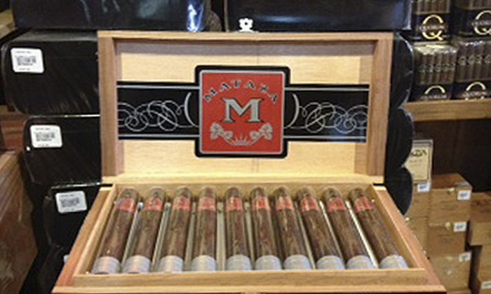 Hiland's Cigars - Hiland's Cigars: $40 for 10-Pack of Mataza Cigars from Hiland's Cigars ($79.98 Value)