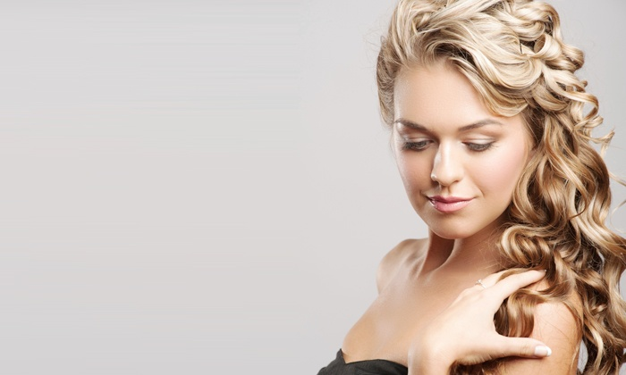 D'Anthony SalonSpa - Multiple Locations: Haircut, or Manicure and Facial at D'Anthony SalonSpa (Up to 61% Off)