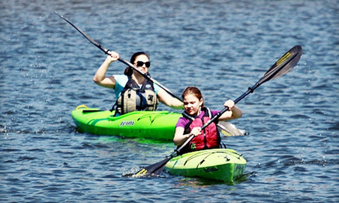 River City Canoe & Kayak - Prospect: Three- or Six-Hour Canoe, Kayak, or Standup Paddleboard Rental at River City Canoe & Kayak (Up to 53% Off)