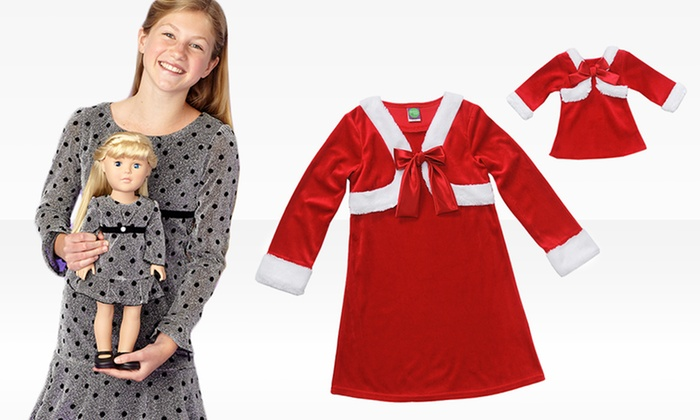 da574a3ea2 Dollie & Me Girls' Clothing with Matching Doll Dresses