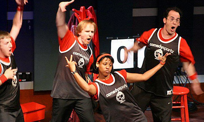 Buffalo ComedySportz - Amherst: Improv-Comedy-Show Package for Two or Four at Buffalo ComedySportz in Amherst (Up to 57% Off)