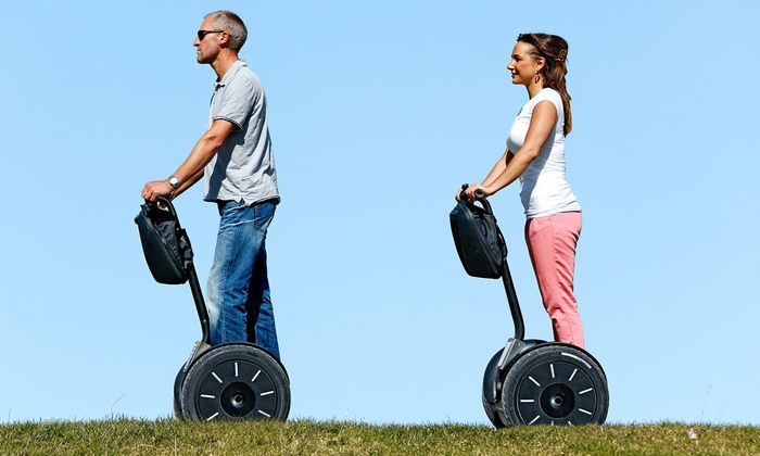 Segway of Richmond - Shockoe Slip: 60-Minute Segway Micro Tour of City Landmarks for One or Two from Segway of Richmond (30% Off)