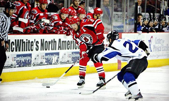 Arizona Sundogs - Prescott Valley: $15 to See an Arizona Sundogs Minor-League Hockey Game at Tim's Toyota Center ($31.75 Value). Four Dates Available.