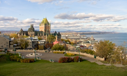 Groupon Deal: 1, 2, or 3 Nights for Two with Optional Travel Package at Auberge Amérik in Quebec City, QC. Combine Multiple Nights.