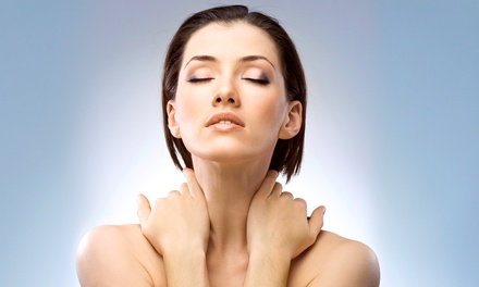 One or Three Skin-Tightening Treatments for Face, Chin, and Neck at Synergie AMS at Club Synergie (50% Off)