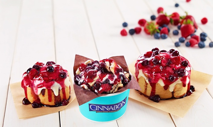 Cinnabon - New River Valley Mall: Desserts and Baked Treats at Cinnabon (Up to 50% Off). Two Options Available.