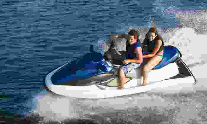 Rent Jet Skis USA - Roseville - Fleet Ridge: One-Hour Jet Ski Rental for One or Two at Rent Jet Skis USA (Up to 50% Off)